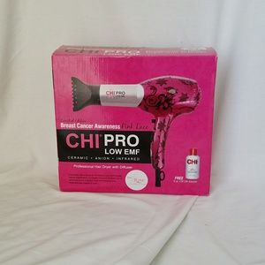 NIB CHI PRO Limited Edition Pink Lace Hair Dryer
